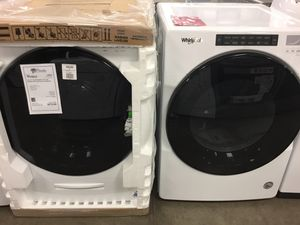 Brand NEW! Whirlpool Front Load Washer Dryer Set w/ Steam for Sale in Gilbert, AZ