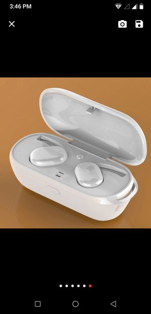 TWS Wireless earbuds headset bluetooth true stereo noise cancellation touch control for Sale in Oswego, IL