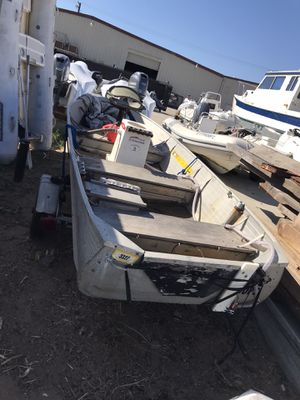 Aluminum fishing skiff for Sale in San Diego, CA