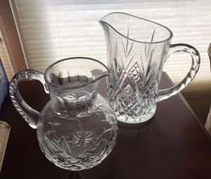 Crystal Pitchers for Sale in Brunswick, OH