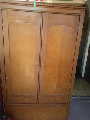 Antique wooden cabinet for Sale in St. Louis, MO