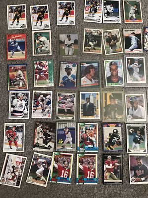 baseball basketball football hockey vintage cards for Sale in Los Angeles, CA