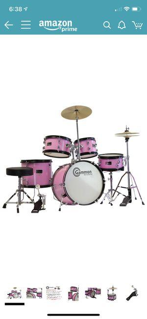 Girls Drum Set Pink for Sale in San Jose, CA