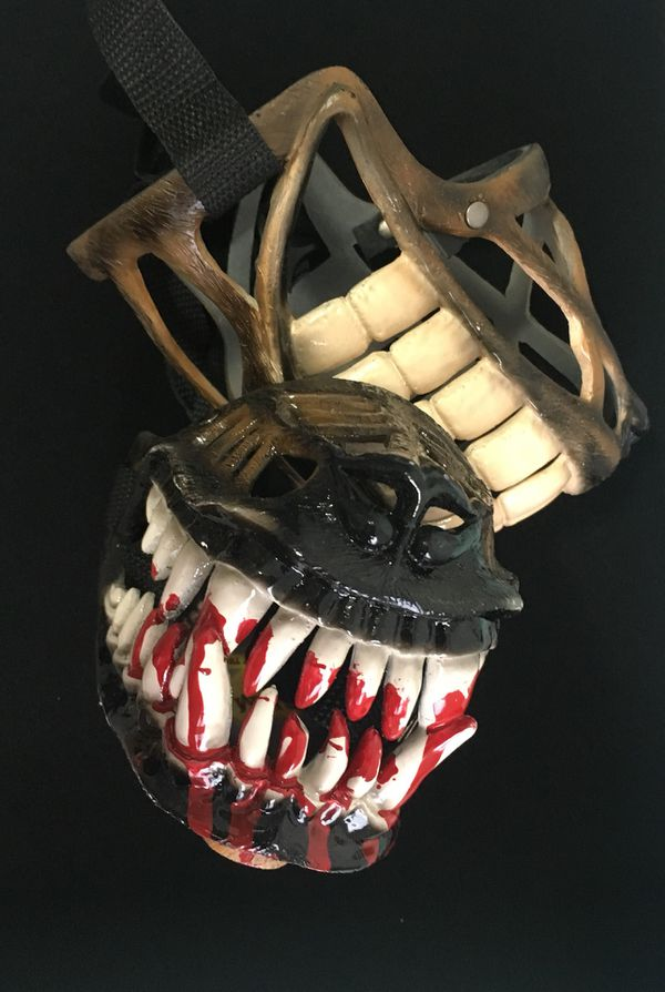 Dog Zombie Halloween Muzzle