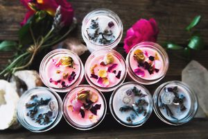 Crystal Healing Candles, Soy Based, Naturally Scented for Sale in Los Angeles, CA