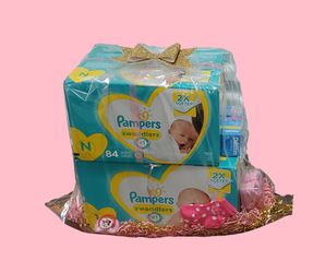(Girl) Baby Shower Gift Basket for Sale in San Antonio,  TX