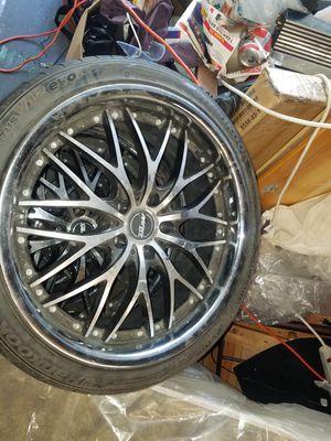 Rims 19 need 3 tires for Sale in Stockton, CA