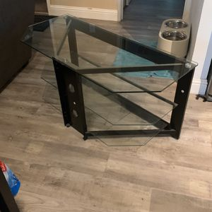 Glass Tv Stand for Sale in West Sacramento, CA