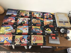 Super Nintendo lot for Sale in Burlington, NJ