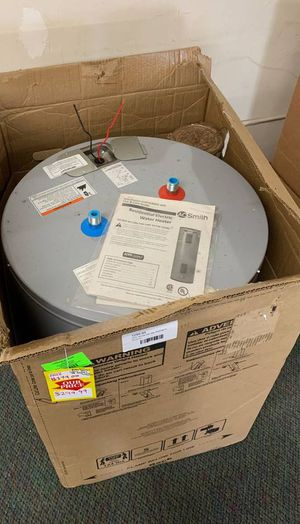 NEW AO SMITH WATER HEATER WITH WARRANTY 38 gallons TB3 for Sale in Glendale, CA