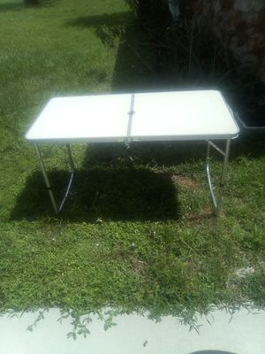 Folding camping table for Sale in Lehigh Acres, FL