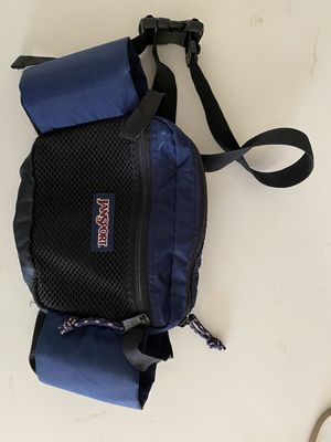 Jansport Fanny Pack. Holds 2 water bottles. Zippered compartments for Sale in Gilbert, AZ