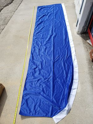 2 blue feather flags with poles - 10 feet tall for Sale in Burbank, CA