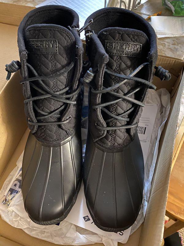 Sperrys rain boot (size 9)