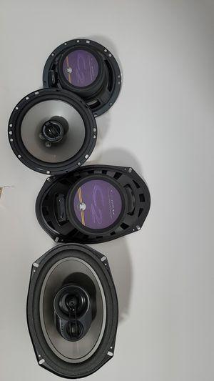 Speakers JL AUDIO 6.5-inch C2-650X (pair) + 6x9-inch C2-690tx (pair) for Sale in Miami, FL