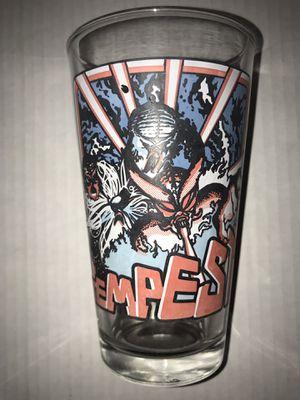 "Atari ""Tempest"" collectible drinking / display glass cup 6"" 16 Oz Pint Rare Vtg for Sale in Santa Cruz, CA"