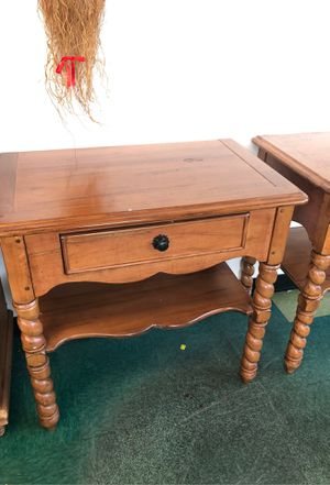 Solid Wood Bassett High End Tables for Sale in Lynnwood, WA
