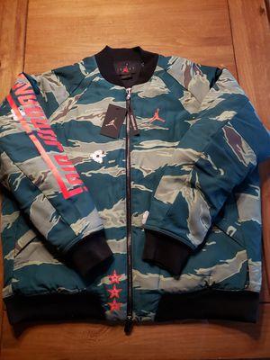JORDAN CITY OF FLIGHT CAMO BOMBER JACKET MENS...SZ XL...3XL...BNWT for Sale in Bakersfield, CA