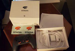 Google stadia FE controller (chromecast not included) for Sale in Sunnyvale, CA