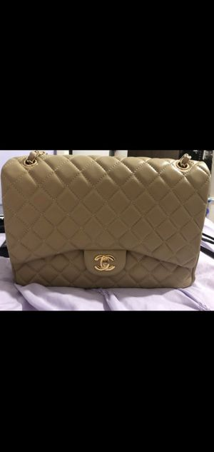 Chanel Beige Jumbo Bag Purse for Sale in Bell Gardens, CA