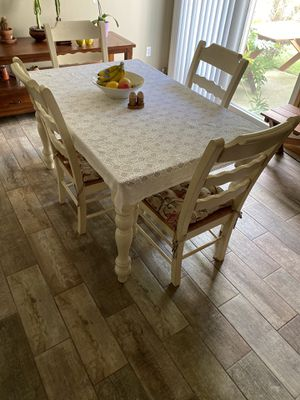 Solid Wood Country Style Dining Set for Sale in Columbus, OH