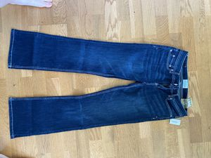 Aeropostale blue jeans, size 3/4, low rise/slim fit, boot cut for Sale in Pittsburgh, PA