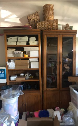 Bookshelve & cabinet as a pair for Sale in Fremont, CA