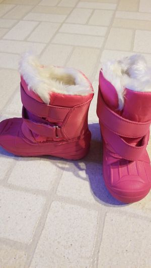 kids snow boots and bib for Sale in Watsonville, CA