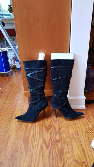 Aldo leather and suede high heel boots size 7 for Sale in Northport, NY