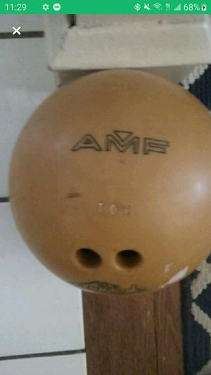 AMF Bowling Ball -12 lbs for Sale in Providence, RI