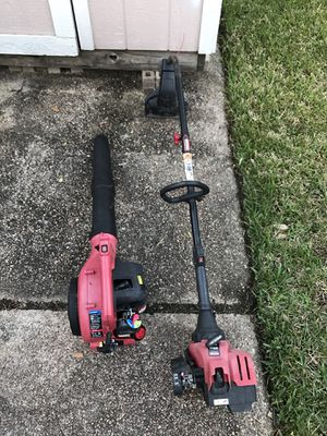 Leaf blower and weedeater both for $50 for Sale in Houston, TX