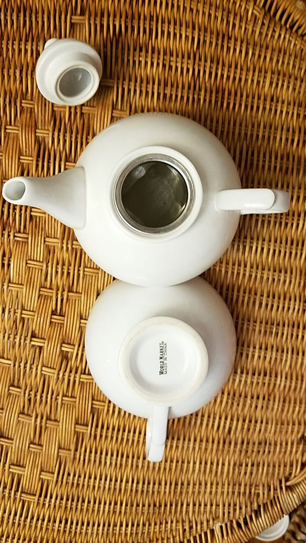 Teapot and Cup