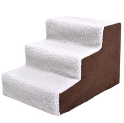 New 3 Steps Pet Dog Cat Stairs Ramp Portable Easy Way Ladder for Sale in Santa Fe Springs,  CA