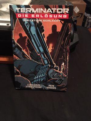 Terminator Die erlosung hardcover graphic novel for Sale in Washougal, WA