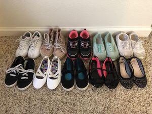 Toddler girl size 9 shoes for Sale in Fort Belvoir, VA