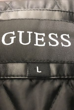 Guess Leather Jacket for Sale in Lorton, VA
