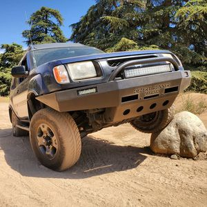 Nissan Xterra winch-capable steel plate bumper with add ons IN STOCK! for Sale in Yucaipa, CA