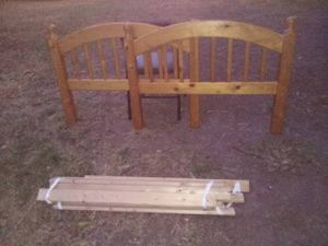 Wooden Headboard and footboard for Sale in Norman, OK