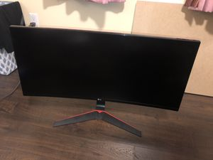 LG 34UC79G-B LG 34-Inch 21:9 Curved UltraWide IPS Gaming Monitor with 144Hz Refresh Rate, Black LG 34UC79G-B LG 34-Inch 21:9 Curved UltraWide IPS Ga for Sale in Santa Cruz, CA