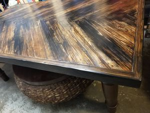 Ready for the holidays? Huge farmhouse style dining table. for Sale in Federal Way, WA