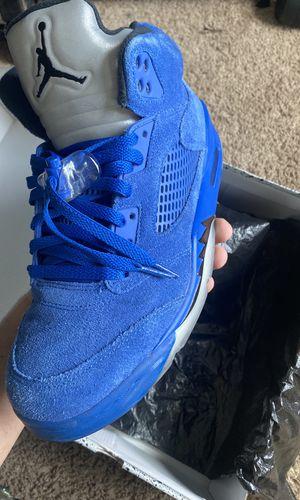 Jordan 5 Blue Suede for Sale in Long Beach, CA