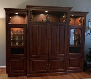 Hooker Furniture Entertainment Center 4-pieces for Sale in Bristow, VA
