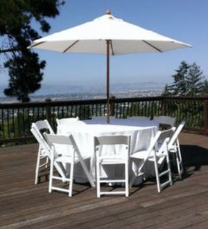 Canopy's, party supply, tables and chairs for Sale in Perris, CA