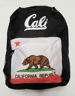 NEW CALI Logo Regular Size Backpack $10 for Sale in Carson, CA