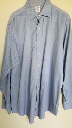 Men's blue Brooks Brothers ling sleeve dress shirts. Sz 16 /35 for Sale in Niles, IL