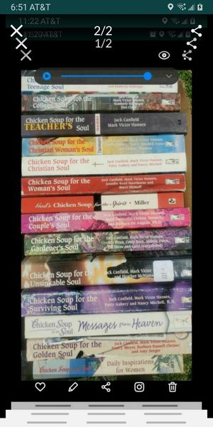 chicken soup for the soul books for Sale in Colton, CA