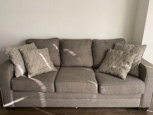 Bob's Brownish-Gray Couch for Sale in Fairfax, VA