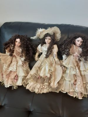 Dolls antique porcelin for Sale in Long Beach, CA