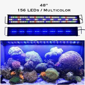 "48"" 156 LED Full Spectrum LED Aquarium Light Reef Coral Marine Fish Tank Light for Sale in Ontario, CA"