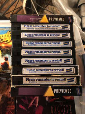Blockbuster VHS tapes for Sale in Los Alamitos, CA